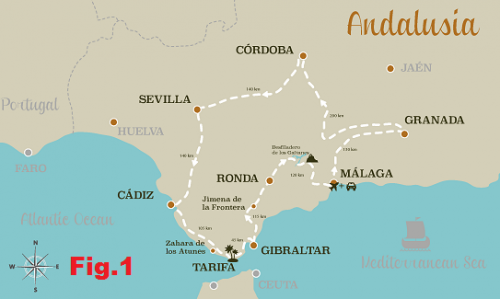 Fig.1) Andalusia