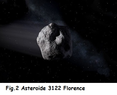 Fig.2 Asteroide 3122 Florence